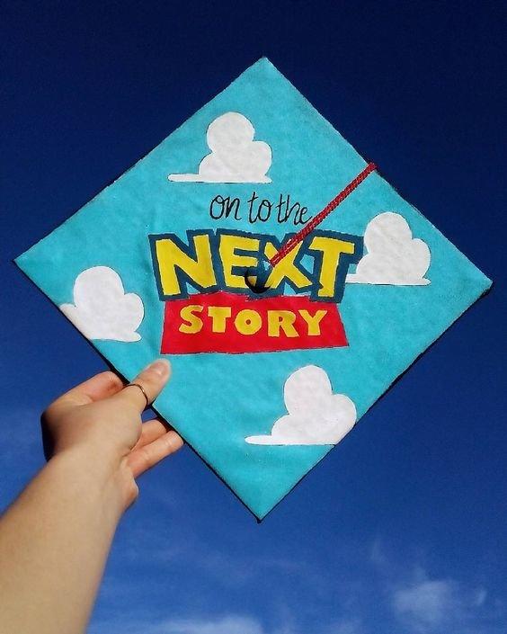 35 Graduation Cap Decorating Ideas For Disney Lovers