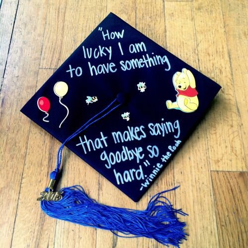 Graduation Cap Clever Girl: 35 Graduation Cap Decorating Ideas For Disney Lovers