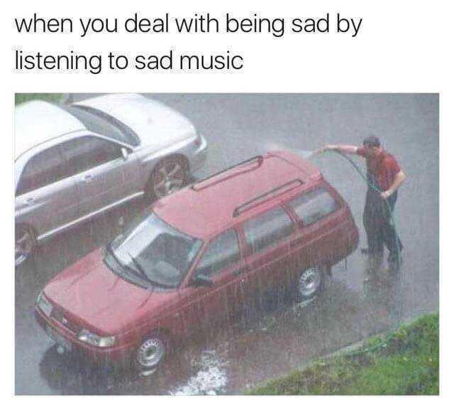Songs when you feel sad