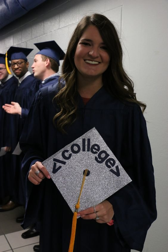 graduation caps for every major that are funny punny and just