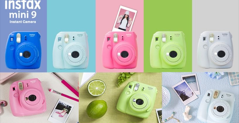these cameras are portable and not to mention adorable with great prints that develop instantaneously