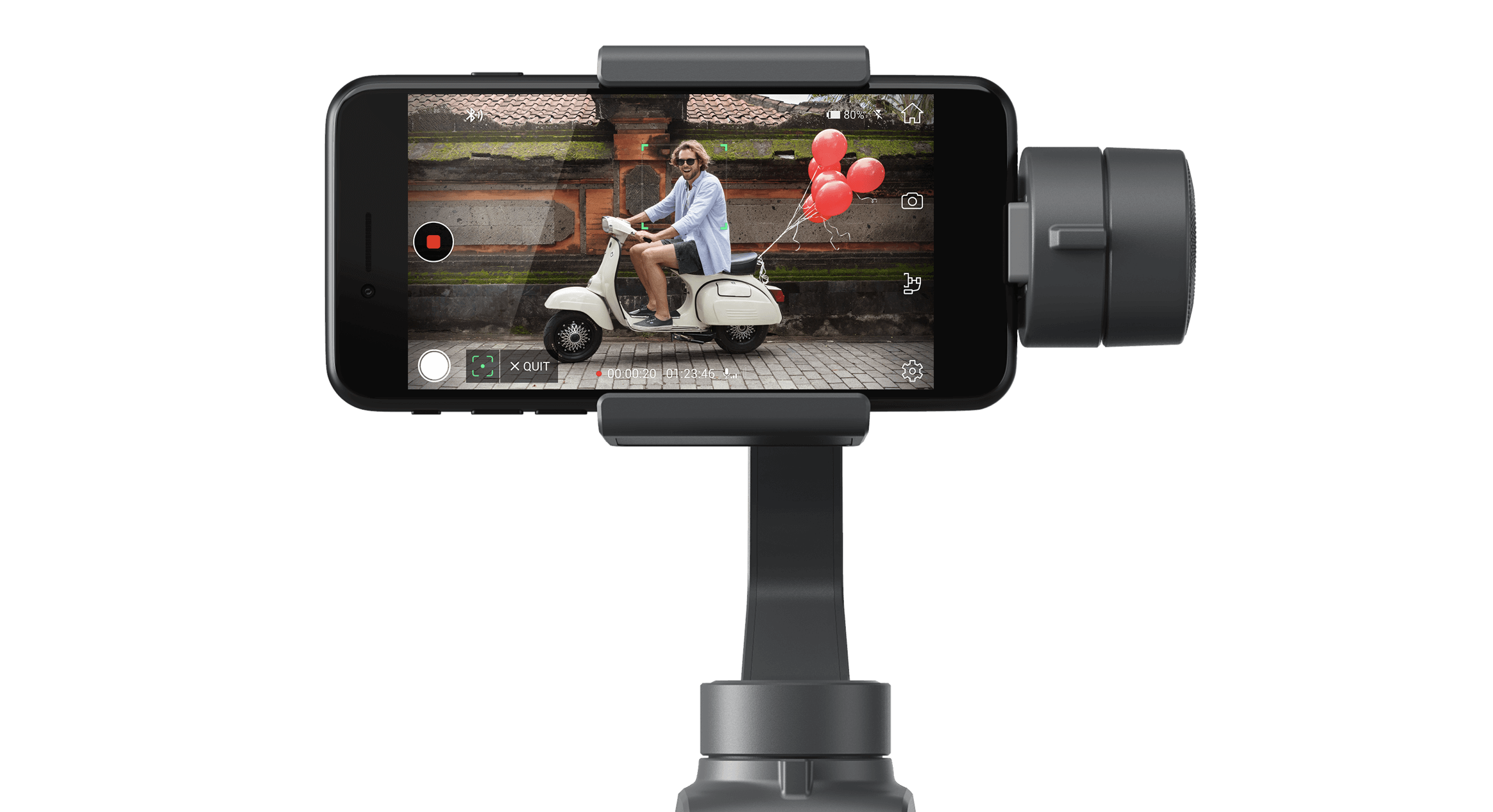 huge selection of 3bcc8 e3f05 DJI Osmo Mobile 2 phone gimbal creates super smooth video - Gearbrain