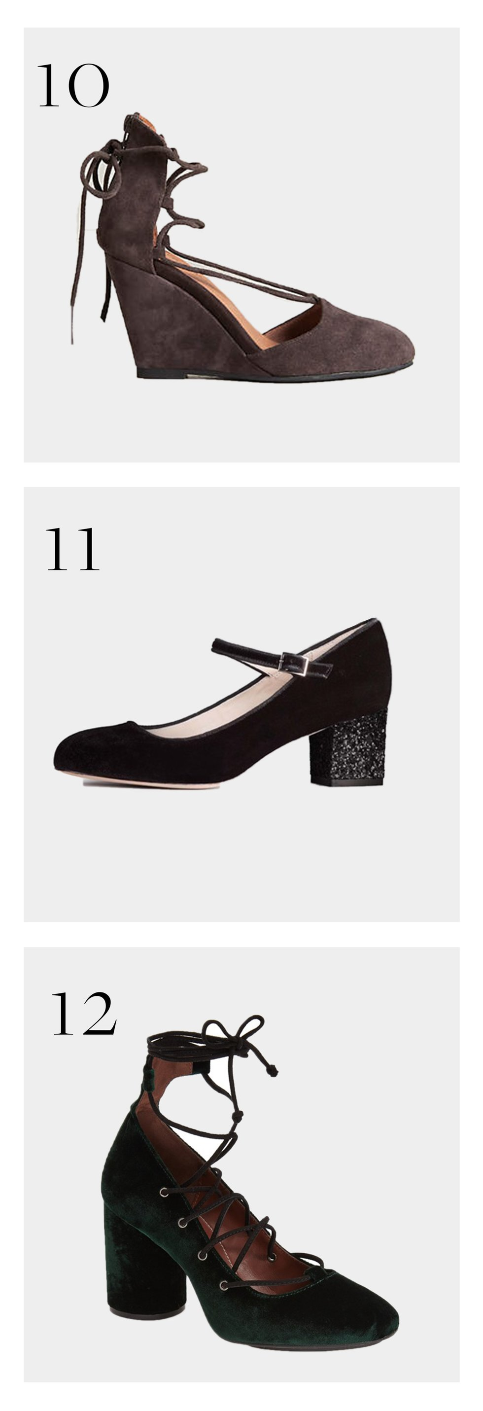 Chic Shoes For Moms Of Toddlers Motherly Mary Janes Straps Circle Block Pointed Toe Wedges Black Dress Holiday