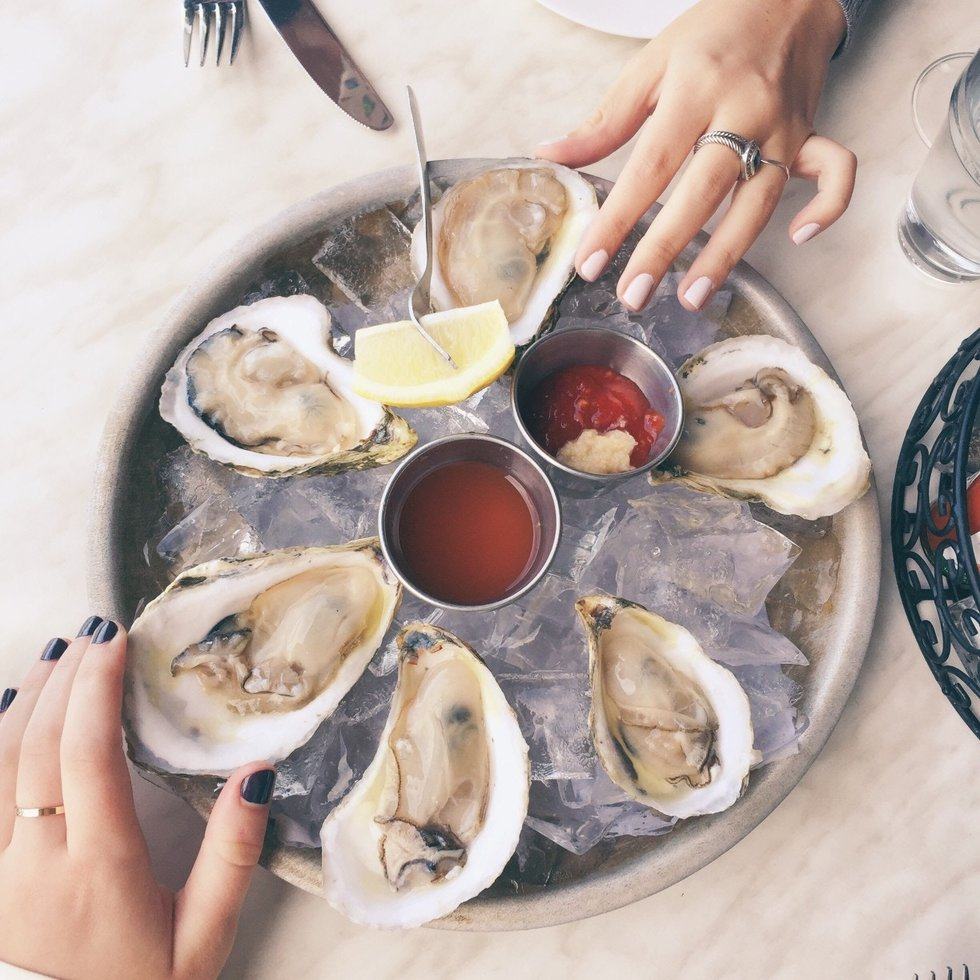 Oysters and sperm count