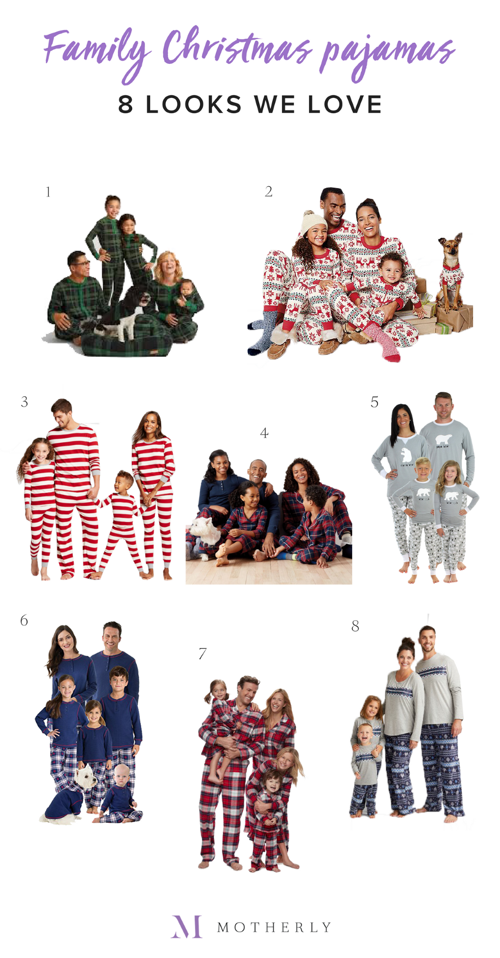 Matching family pajamas: 8 looks we love - Motherly
