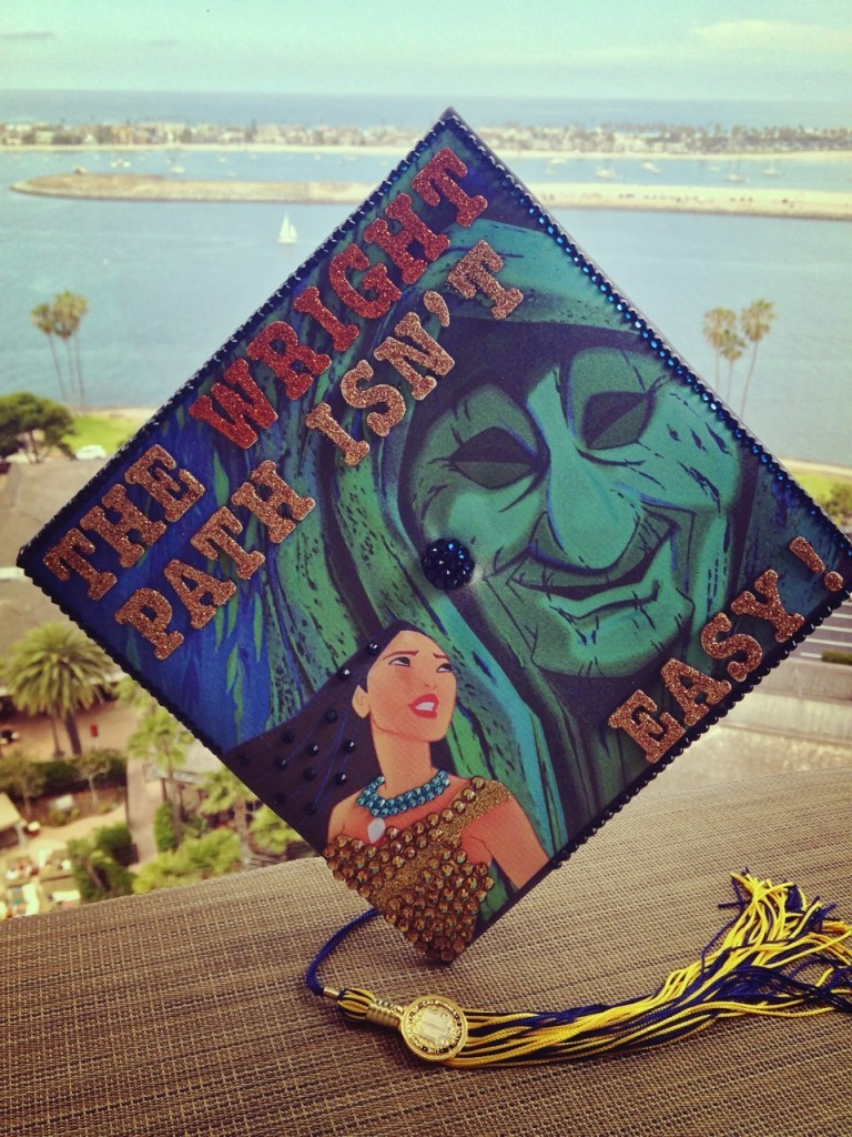 25 Graduation Cap Decoration Ideas For Disney Lovers