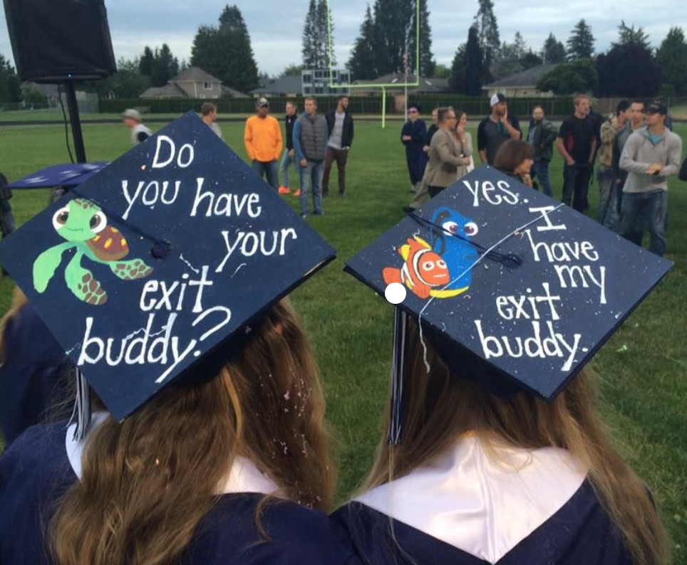 21 magical disney grad caps that any student who wishes upon a star