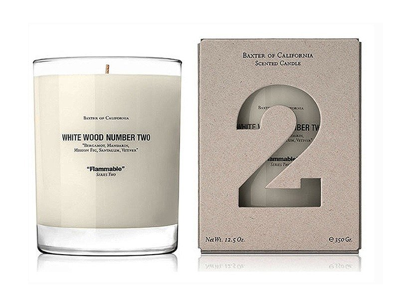 Scented Candle Alternatives Baxter California White Wood