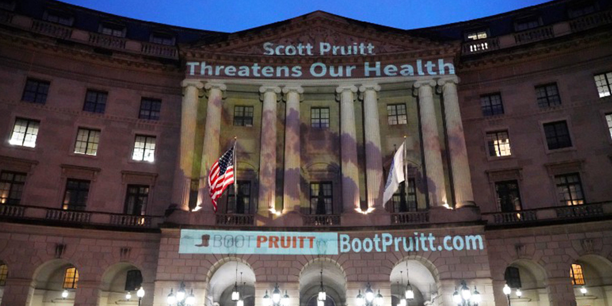 photo image EPA Union Also Wants to Boot Pruitt