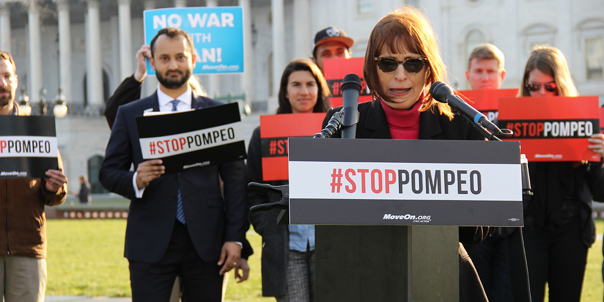 photo image Earth to Senate: Hell No, Pompeo!