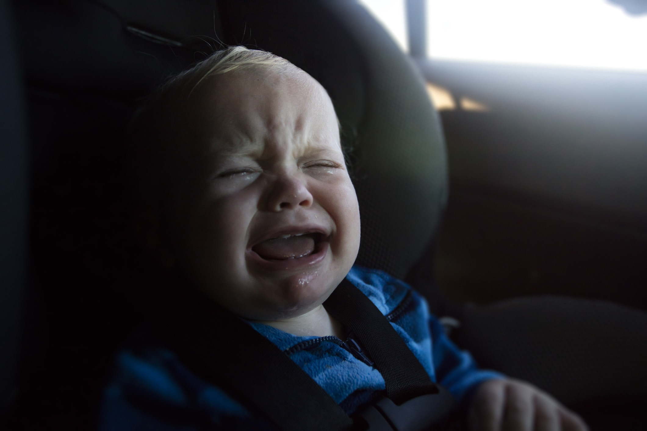 bc16442304ae How to Cope When Your Baby Totally Hates the Car - Motherly