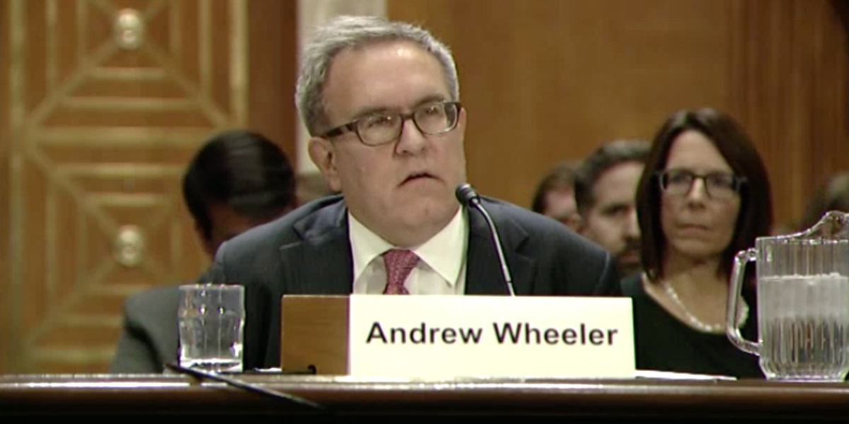 photo image Former Coal Lobbyist Confirmed as No. 2 at EPA
