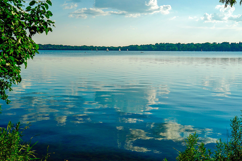 Lake Harriet in Minneapolis, Minnesota