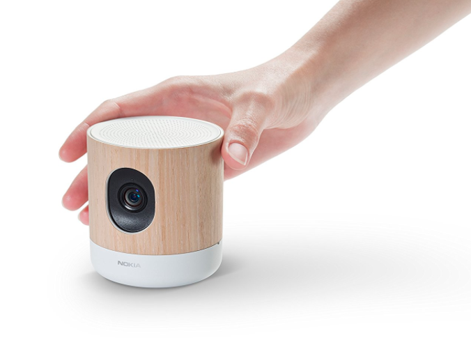 picture of Nokia home  camera and air monitor