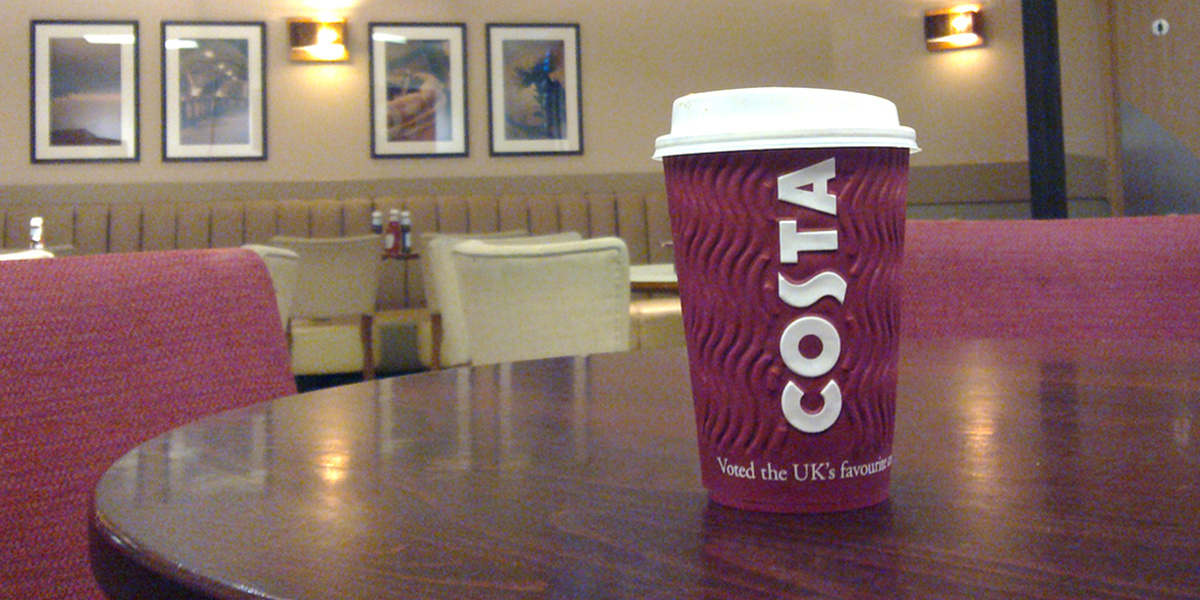 UK s Largest Coffee Chain Pledges to Recycle as Many Cups as It Sells