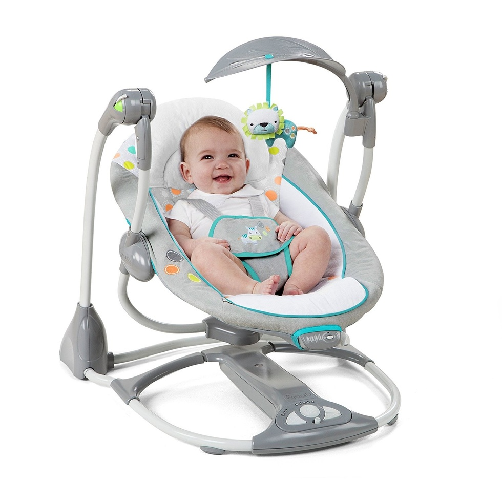 Rock on, mama: These are the 6 best baby swings - Motherly