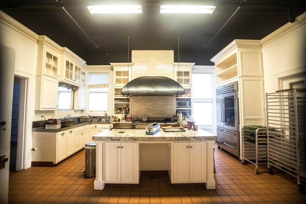 Image result for roam san francisco coliving kitchen