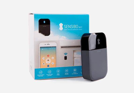 Picture of Sensibo smart air conditioner controller.