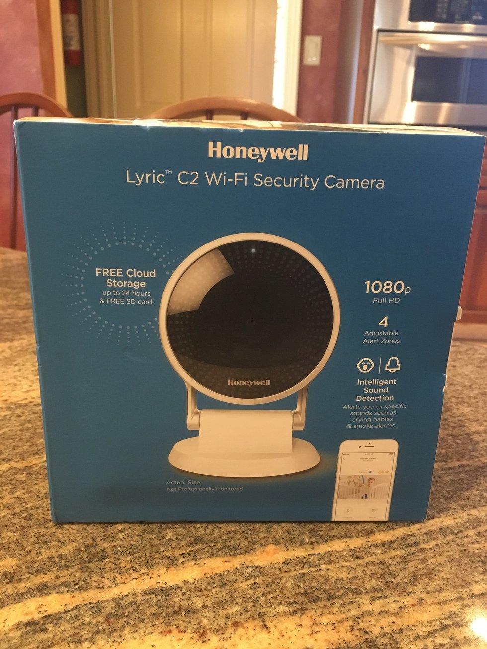 Honeywell Lyric C2 Wi-Fi Security Camera