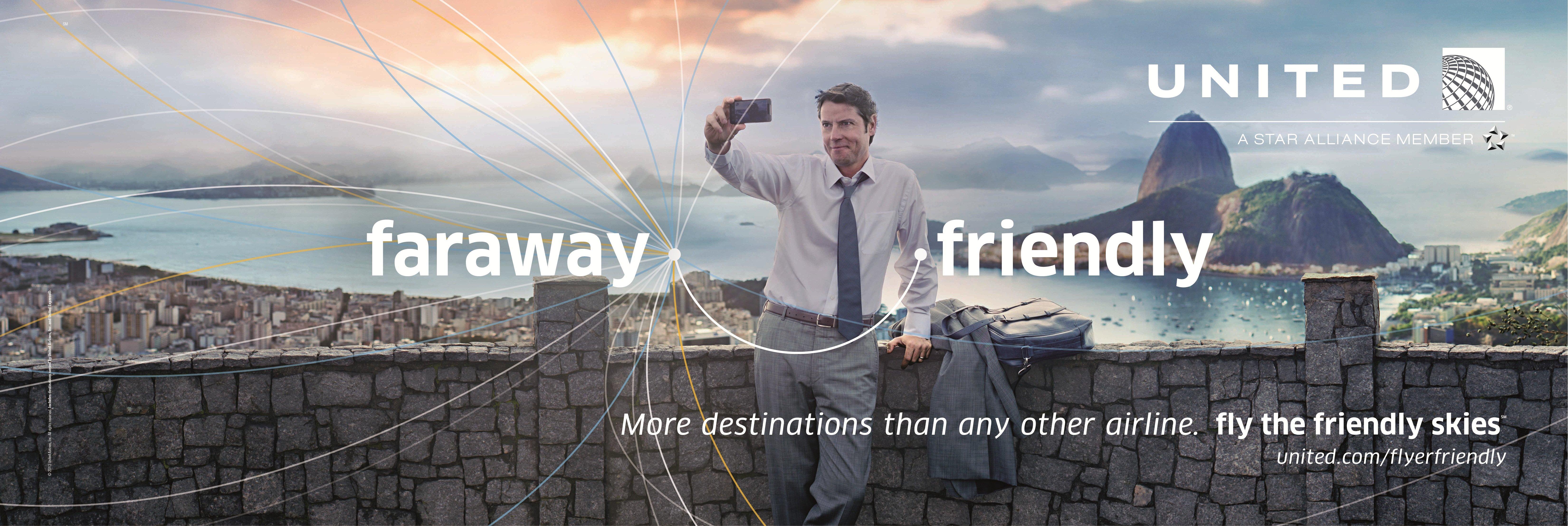 United Airlines Advertising Friendly Skies