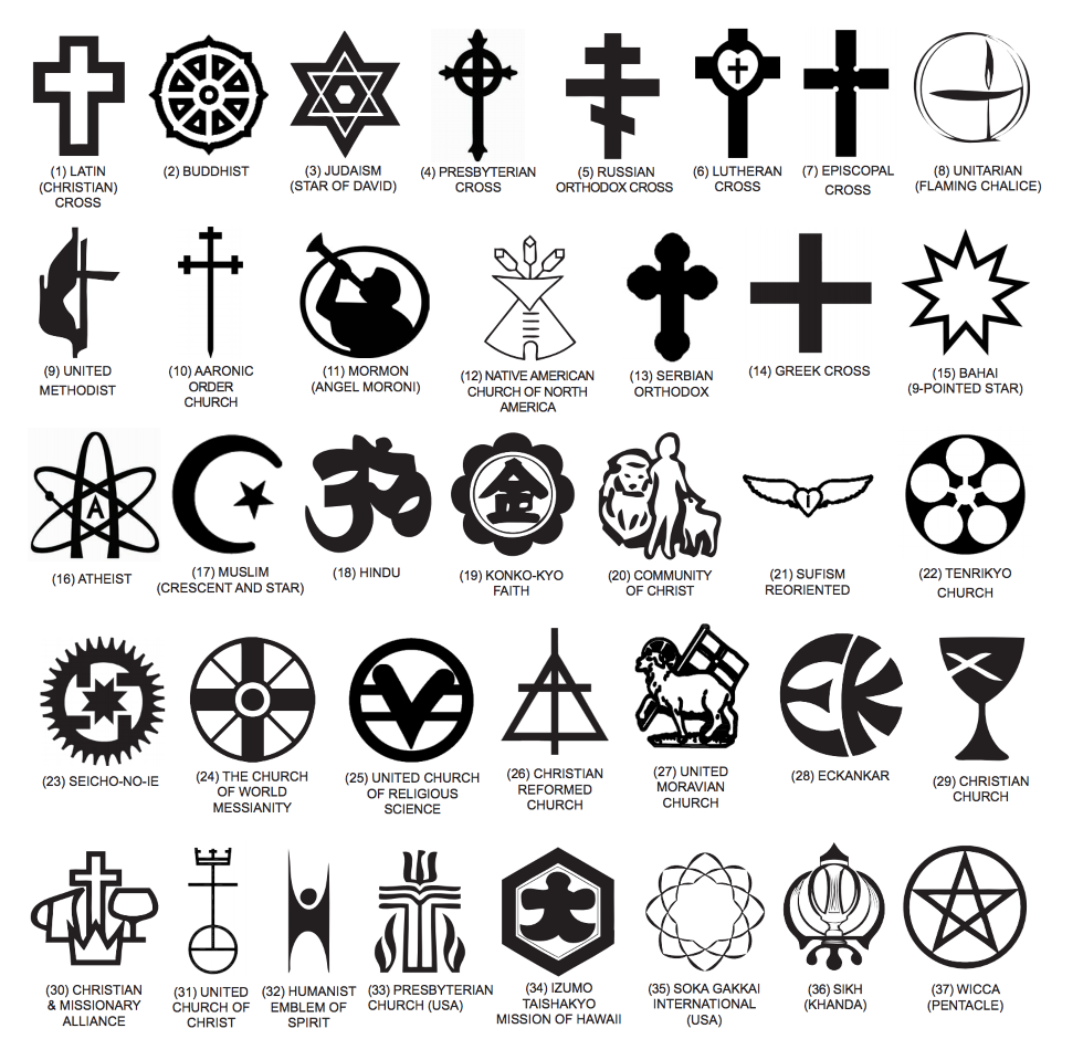 The 66 Religious Symbols The Va Will Put On Tombstones We Are The