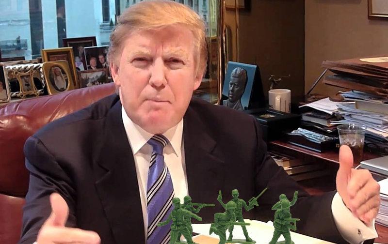 War Hero Donald Trump Was Most Terrific War Hero In Prep School