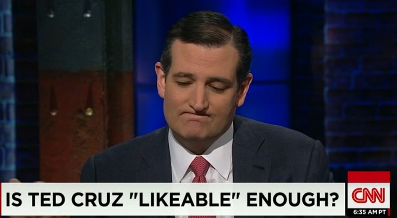 Ted Cruz's Grubby, Foreign-Born Hands Feeling Spanky Again