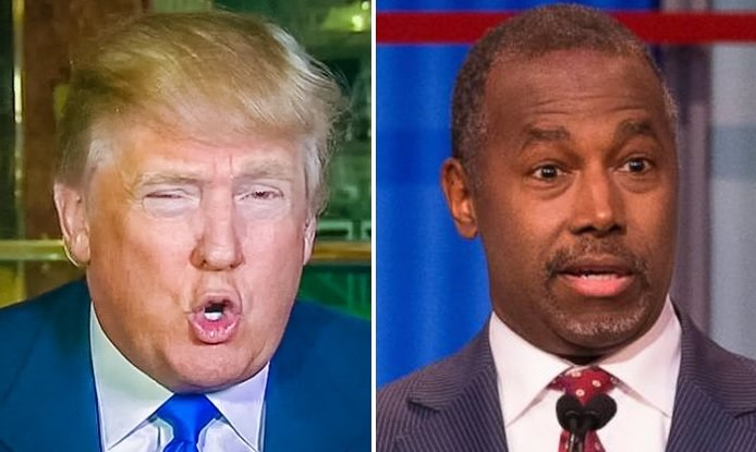 Donald Trump And Ben Carson Having A Good Old-Fashioned God Fight