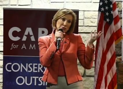 Here's Carly Fiorina Lying Some More. Watch The Video!