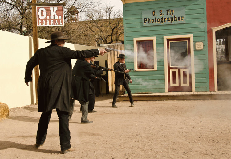 Idiot 'OK Corral' Historic Re-Enactor Shoots Guy Right In His Billy The Kids