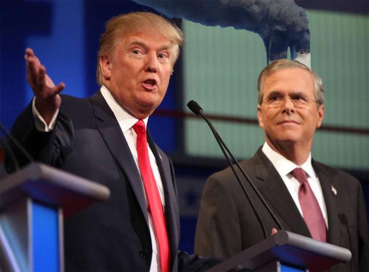 Jeb Bush Can't Win, Settles For Explaining How Dubya Stopped 9/11