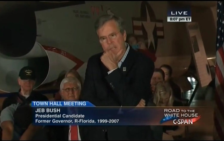Jeb Bush Can't Remember That Unforgettable Space Shuttle Disaster He'll Never Forget