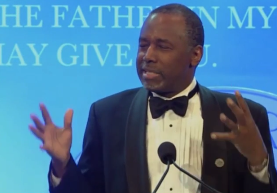 Ben Carson's Broken Brain Has New 'Thoughts' On Gay Marriage