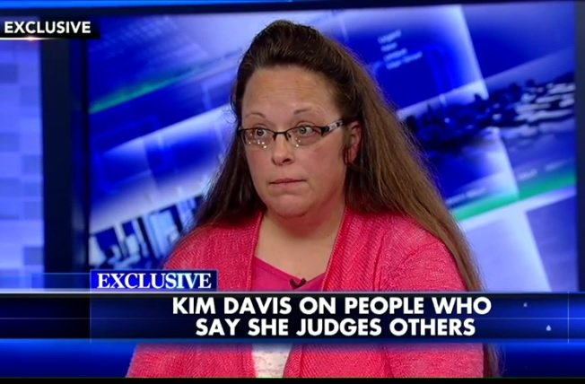 Megyn Kelly Lets Kim Davis Yammer About Jebus For A While