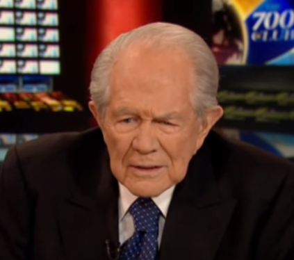 Pat Robertson Just Called Kim Davis A Whore