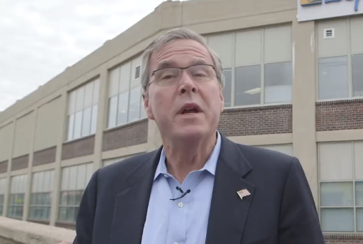 Jeb Bush's New Sick Burn Against Trump Is The Saddest Thing You'll See All Day