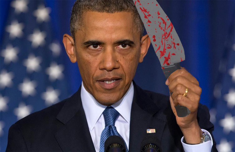 Pat Robertson Pretty Sure Obama's Going To Behead Everybody Just Like He Did In Oklahoma