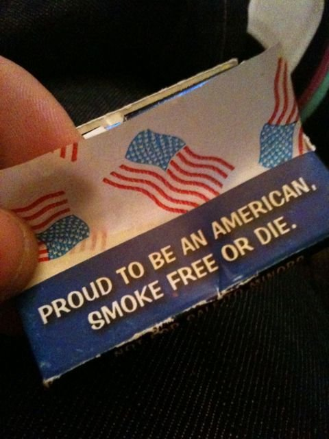 Massachusetts Patriots To Local Health Board: Smoke Free Or Die