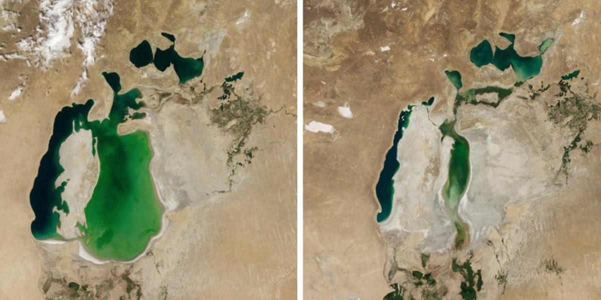 photo image NASA Study of Increasingly Dire Global Water Shortages Finds 'Clear Human Fingerprints'