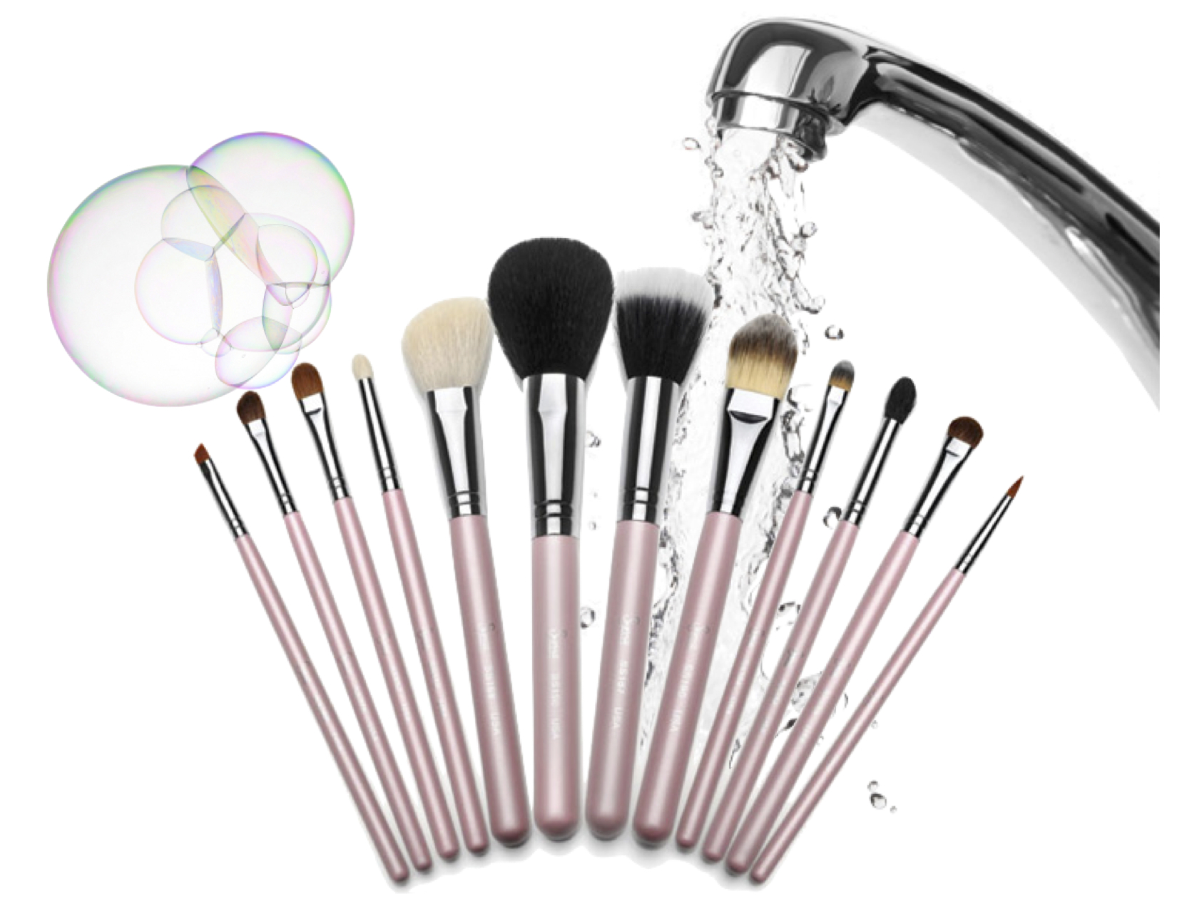 How To Deep Clean & Wash Makeup Brushes