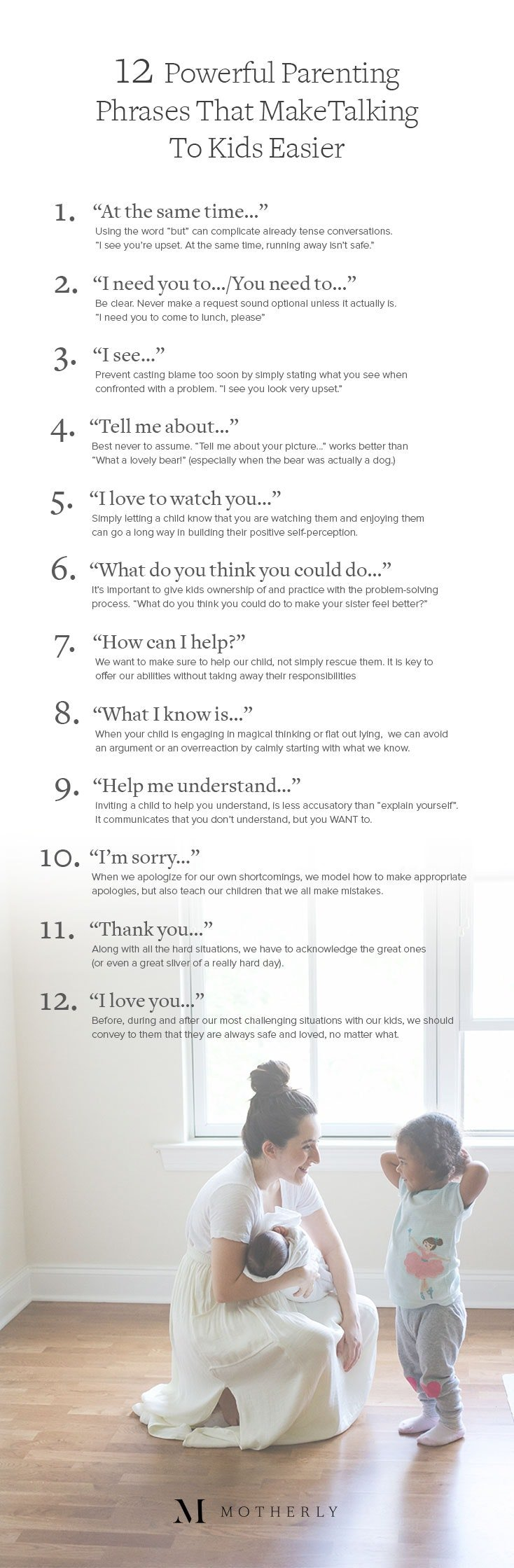 12 Powerful Parenting Phrases That Make Talking To Kids Easier