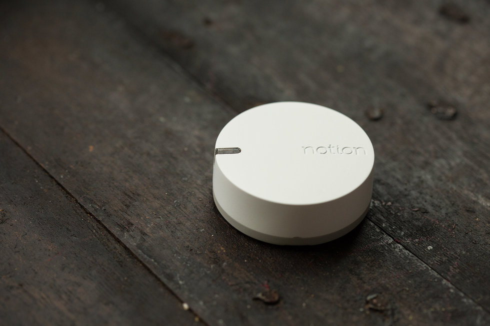 notion smoke movement temperature sensor