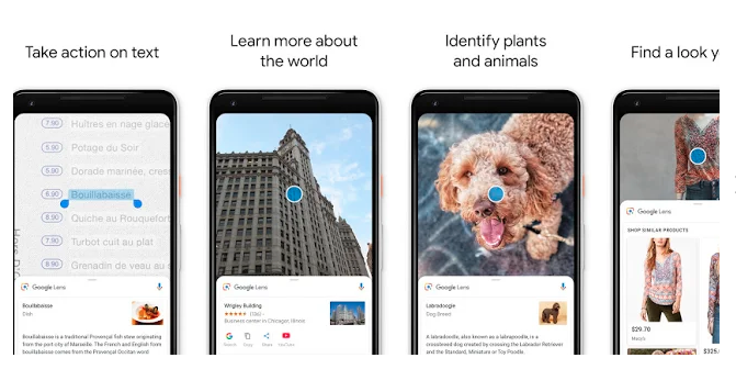 Image result for google lens on the web