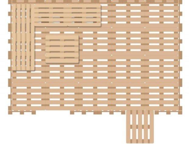 Eine Selbst Gemachte Terrasse Zum Wohlfuhlen Aus Zwanzig Gesammelten