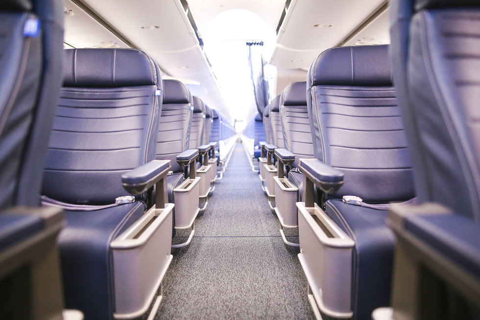 Boeing 737 MAX 9 new seats