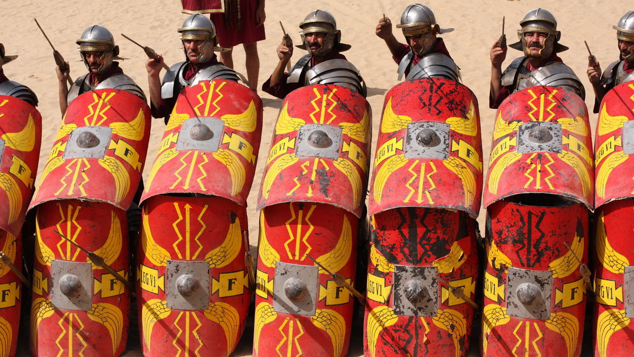 this was the average day for an ancient roman soldier we are the