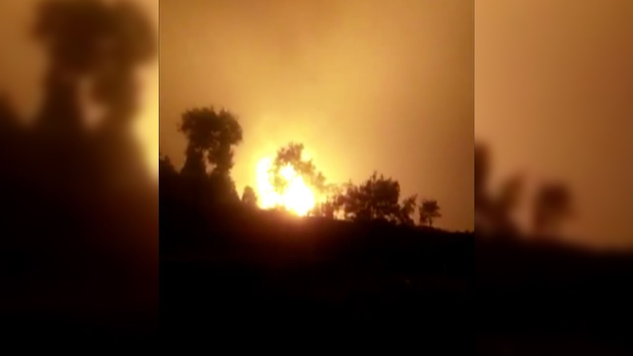 photo image Chinese Gas Pipeline Explosion Injures 24 People