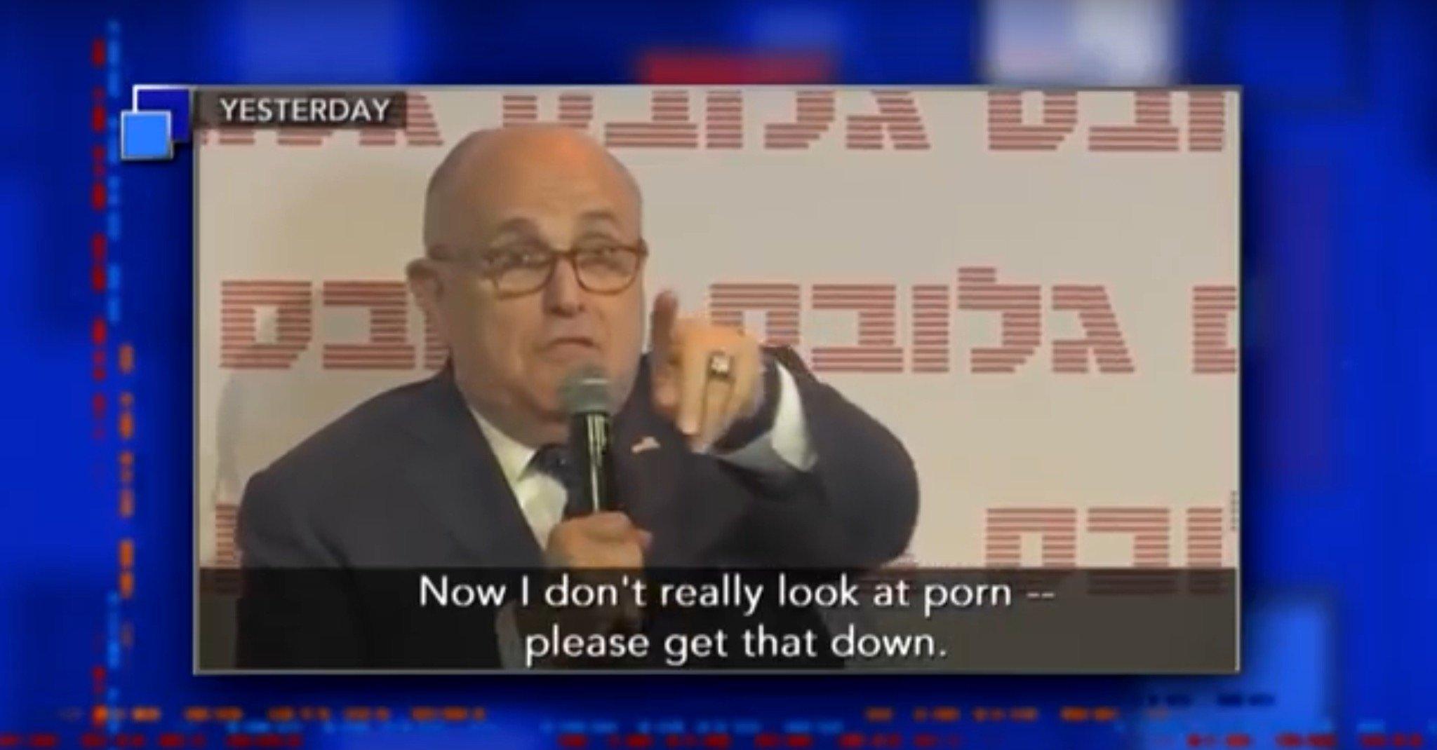 photo image Is Rudy Giuliani Hiding His Porn Boobie Magazines From Michael Avenatti?