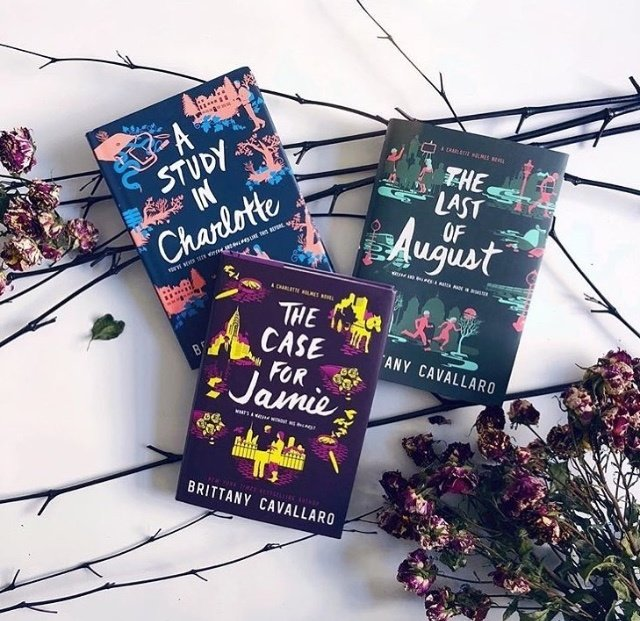 1 the charlotte holmes series by brittany cavallaro - Best Christmas Novels