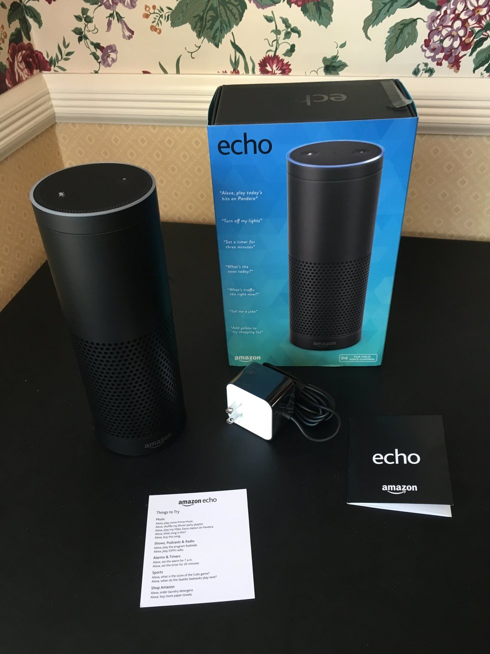 Amazon Echo works with Vivint